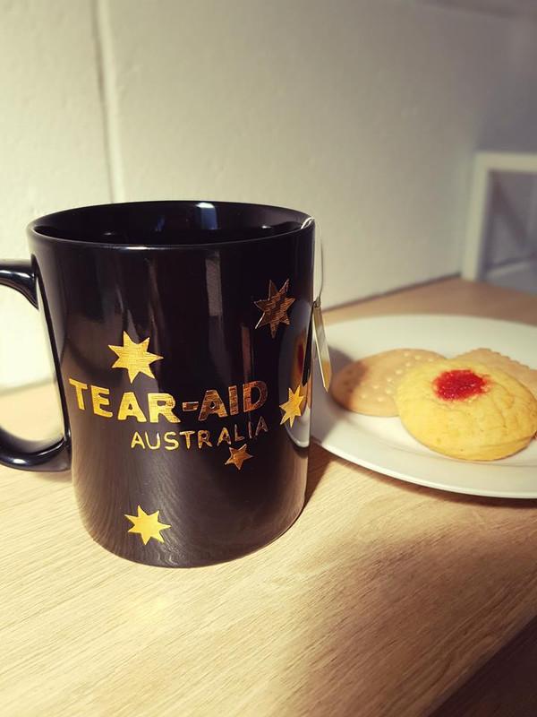Tear Aid Type B Coffee Mug (Gold) 2