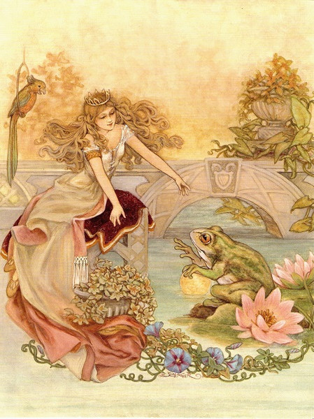 At My Desk - Fairytales and Green Frogs