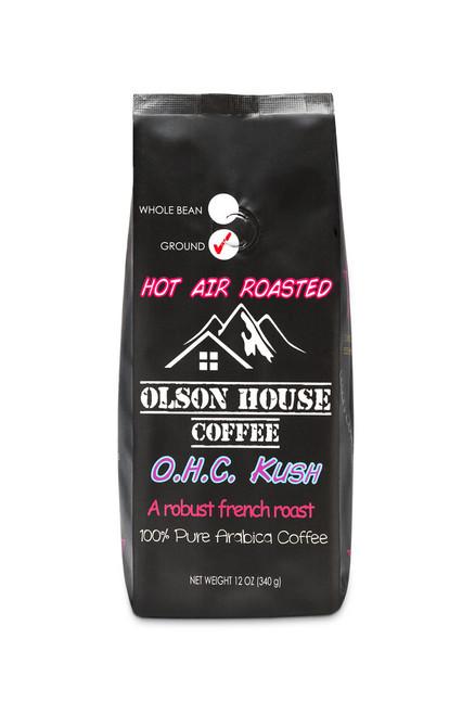 Olson House Coffee - OHC KUSH. 12OZ BAG GROUND COFFEE