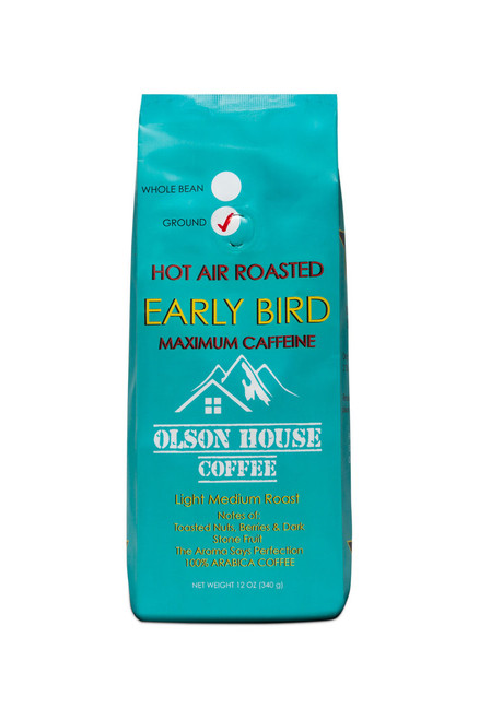 3 POUND  OLSON HOUSE COFFEE - EARLY BIRD. 3pound, bag GROUND COFFEE