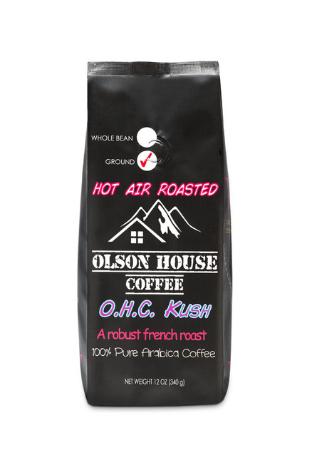 OHC KUSH. 5 POUND BAG WHOLE BEAN COFFEE