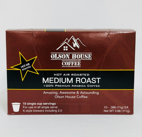 80 count -Medium Roast- K style cups-Free Ship