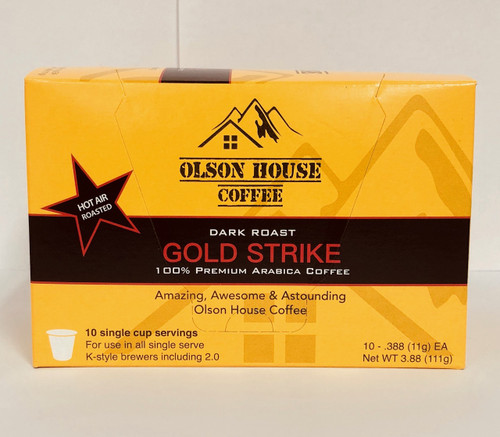 80 count - Gold Strike - Dark Roast K style cup-Free ship!