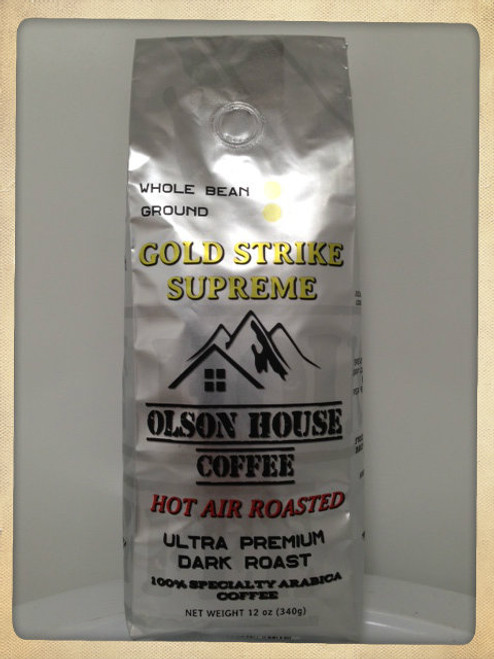 Olson House Coffee - Gold Strike Supreme. 12OZ BAG GROUND COFFEE BEANS