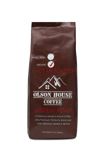 Olson House Coffee -  Medium Roast Coffee. 12OZ BAG WHOLE BEAN COFFEE