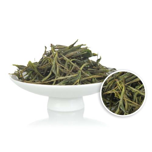 Organic Nonpareil Chang Xing Gu Zhu Zi Sun Purple Bamboo Shoot China Green Tea 500g
