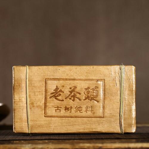 200-year-old Ancient Tree Aged Lao Cha Tou Pu-erh Tea Brick 2010 500g Ripe