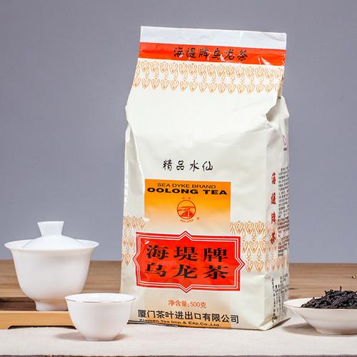 Sea Dyke XT707 Fujian Jing Pin Shui Xian Rock Yan Cha China Oolong Tea 500g Bag
