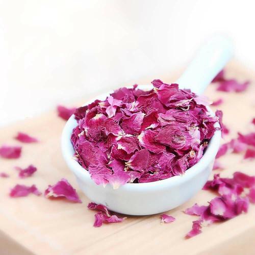 Premium Organic Rose Petals Edible Culinary Dried All Natural Flowers Herbal Tea 500g