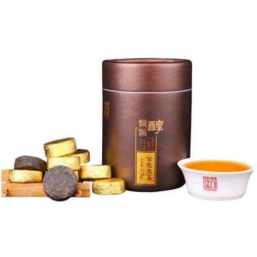 BAISHAXI Brand Ke ke Chun Hunan Anhua Dark Tea 178g Cake