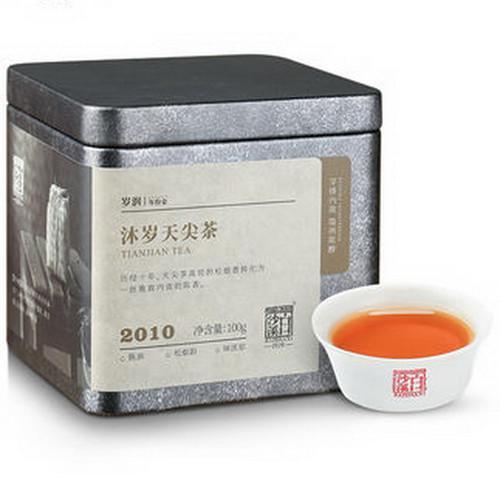 BAISHAXI Brand Mu Sui Tianjian Hu Nan Anhua Tianjian Hei Cha Dark Tea 100g