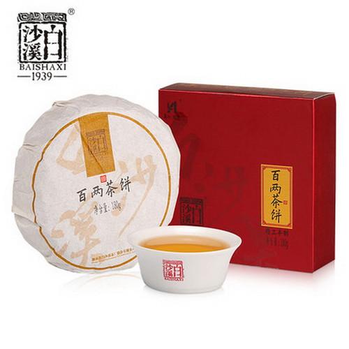 BAISHAXI Brand Bai Liang Cha Hunan Anhua Dark Tea 180g Cake