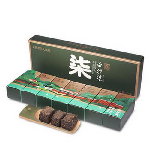 BAISHAXI Brand Qi Qu Ji Zhuan Dark Tea Mix Anhua Dark Tea 200g