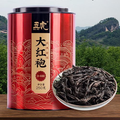 Wu Hu Brand Fujian Wuyi Da Hong Pao Big Red Robe Oolong Tea 250g