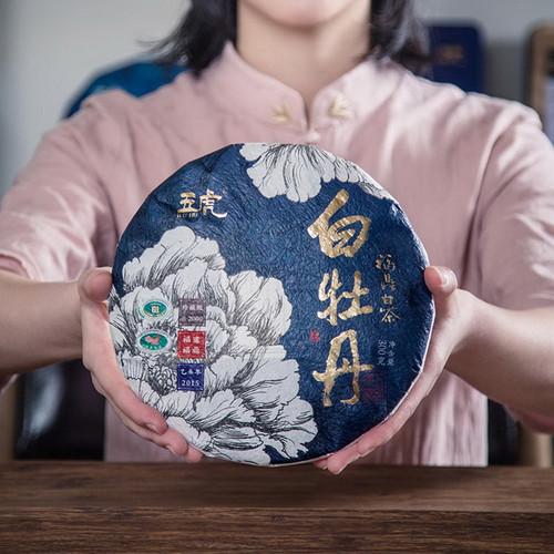 Wu Hu Brand White Peony Fuding White Tea Cake 300g