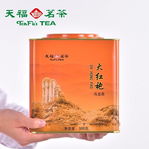 TenFu's TEA Brand Da Tie Guan Fujian Wuyi Da Hong Pao Big Red Robe Oolng Tea 500g