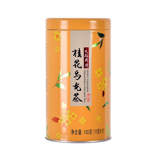 TenFu's TEA Brand  Yong Qing Gui Hua Oolong Osmanthus Oolng Tea 100g