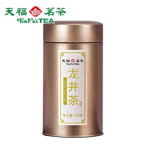 TenFu's TEA Brand Jin Guan Long Jing Dragon Well Green Tea 100g