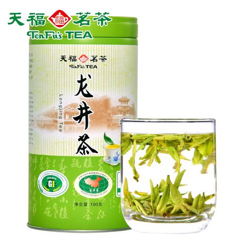 TenFu's TEA Brand Zao Chun Long Jing Dragon Well Green Tea 100g
