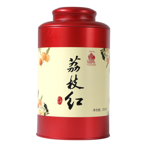 GOLDEN SAIL Brand Boutique Lychee Flavoured Black Tea 250g