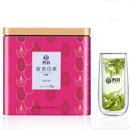 FANGYU Brand Yu Qian 1st Grade An Ji Bai Pian An Ji Bai Cha Green Tea 125g