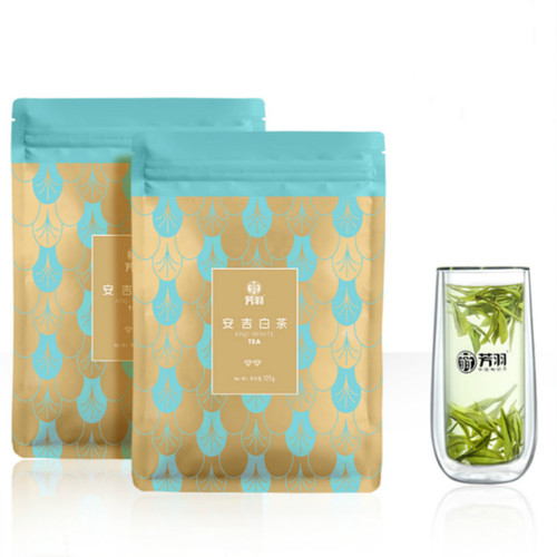 FANGYU Brand Yu Qian 2nd Grade An Ji Bai Pian An Ji Bai Cha Green Tea 125g*2