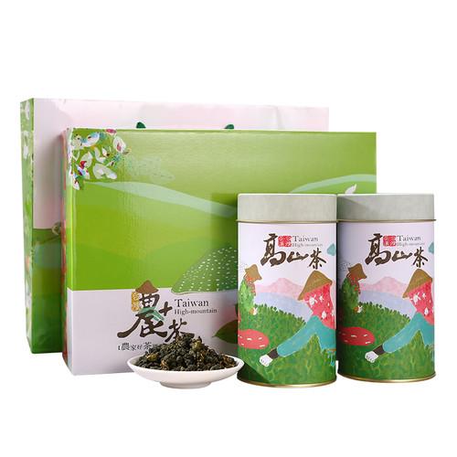 TAIWAN TEA Brand Cha Xian Ju Four Seasons Taiwan Oolong Tea 150g*2 Gift Box