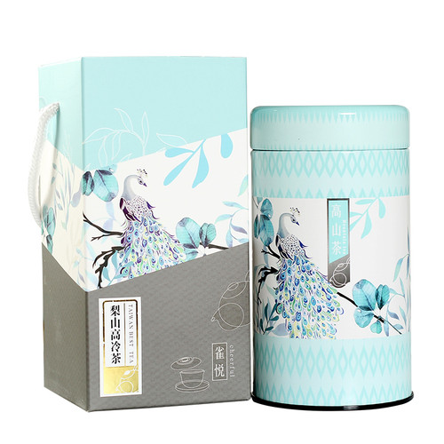 TAIWAN TEA Brand Que Yue Gift Box Taiwan Lightly Oxidised Li Shan Cha High Mountain Oolong Tea 150g