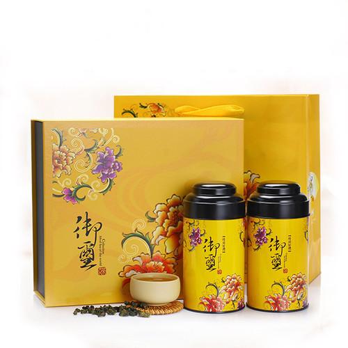 TAIWAN TEA Brand Yu Xi Gift Box AliShan Taiwan High Mountain Gao Shan Oolong Tea 150g*2