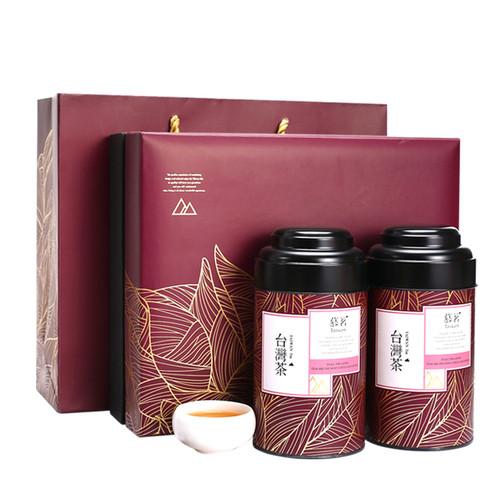 TAIWAN TEA Brand Mu Ming Gift Box Taiwan Lightly Oxidised Li Shan Cha High Mountain Oolong Tea 150g*2