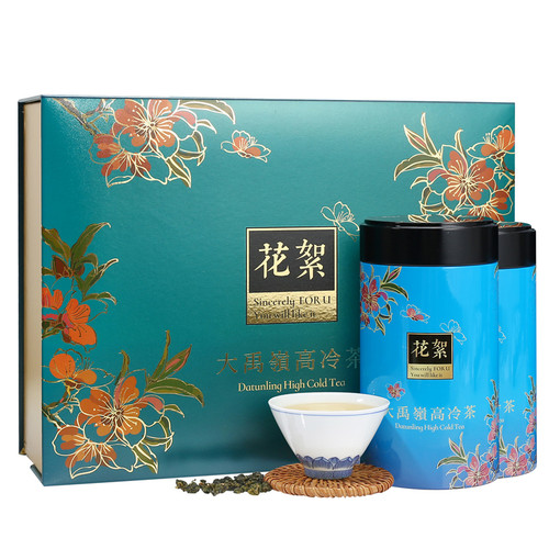 TAIWAN TEA Brand Hua Xu Gift Box Da Yu Ling Cold Brew High-mountain Oolong 150g*2