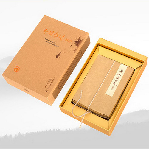 JUNSHAN Brand Golden Flower Jun Shan Yin Zhen China Yellow Tea Brick 480g