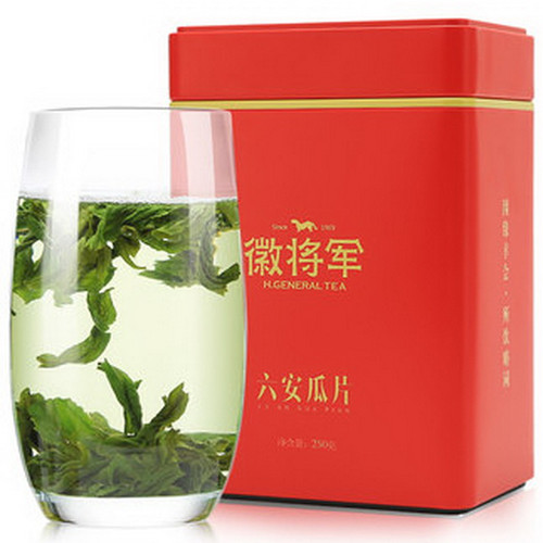 H. GENERAL Brand Yu Qian 1st Grade Liu An Gua Pian Melon Slice Tea 250g