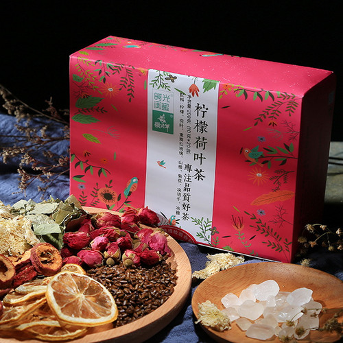 H. GENERAL Brand Shi Guang Gui Mi Ba Bao Cha Asssorted Herbs & Fruits Chinese Bowl Tea 200g