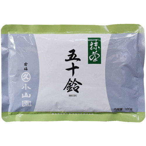 Marukyu Koyamaen Isuzu Stone Ground Ceremonial Matcha Powered Green Tea 100g