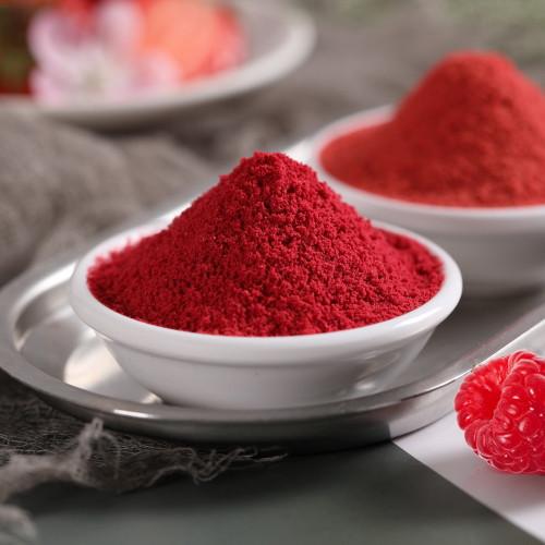 Organic Fresh Freeze Dried Raspberry Whole-Berry Powder 500g