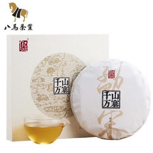 BAMA Brand Qianshan Wanzhai Meng Song Pu-erh Tea Cake 2019 357g Raw