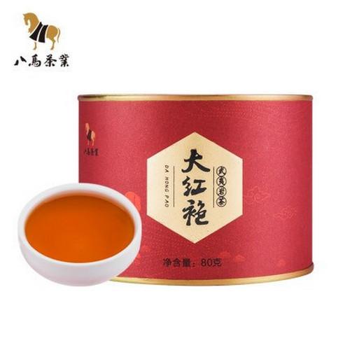 BAMA Brand Da Hong Pao Fujian Wuyi Big Red Robe Oolng Tea 80g