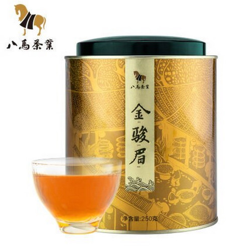 BAMA Brand Jin Jun Mei Golden Eyebrow Wuyi Black Tea 250g