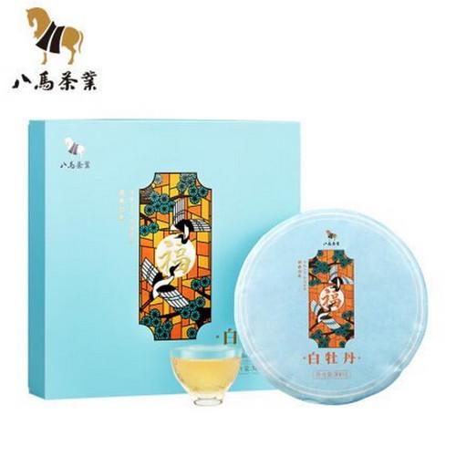 BAMA Brand White Peony Tai Lao Shan Fuding White Tea Cake 300g