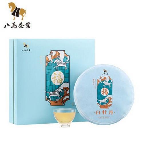 BAMA Brand White Peony Tai Lao Shan Fuding White Tea Cake 357g