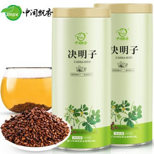 ZMPX Brand Jue Ming Zi Cassia Seeds Chinese Herbal Tea 350g*2