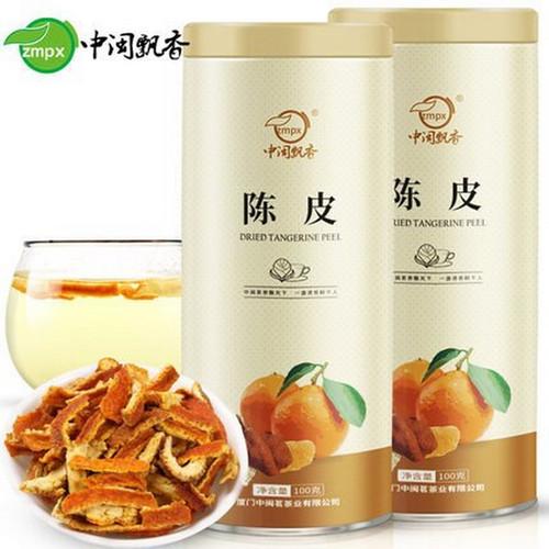 ZMPX Brand Dried Chen Pi Pericarpium Citri Reticulatae Tangerine Citrus Peel Herb 100g*2