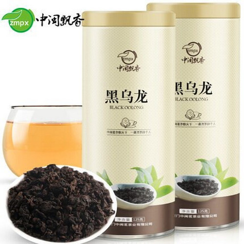 ZMPX Brand Black Oolong Charcoal Roasted Slimming Tea Reducing Weight Fat Burning 125g*2