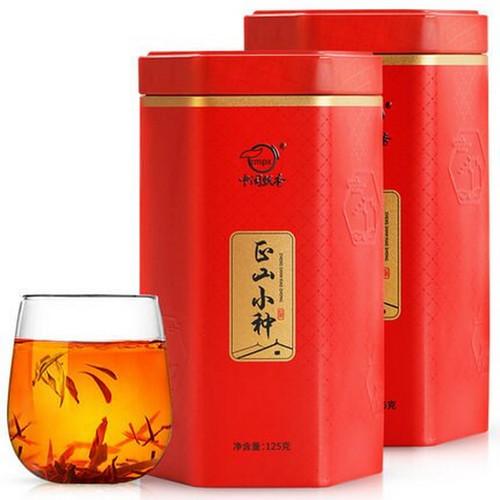 ZMPX Brand Nong Xiang Lapsang Souchong Black Tea 125g*2