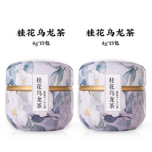 ZMPX Brand Gui Hua Oolong Osmanthus Oolng Tea 60g*2