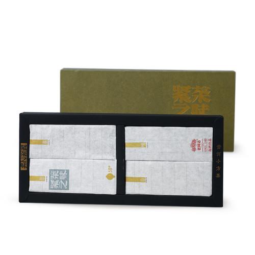 HAIWAN Brand Old Comrade Jincha Zhiwei Pu-erh Tea Brick 2013 200g Raw