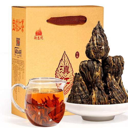 Xin Yi Hao Brand Pagoda Dian Hong Yunnan Black Tea 500g