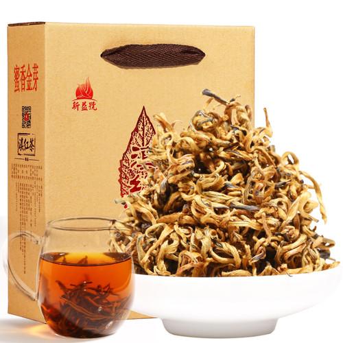 Xin Yi Hao Brand Mi Xiang Golden Bud Dian Hong Yunnan Black Tea 500g