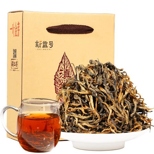 Xin Yi Hao Brand One Leaf Golden Bud Dian Hong Yunnan Black Tea 500g